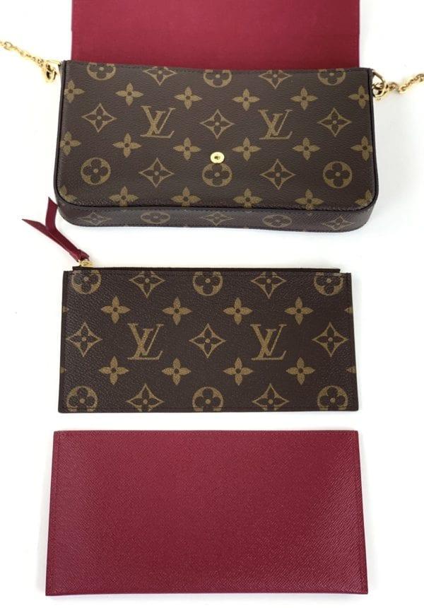 Louis Vuitton Monogram Félicie Pochette
