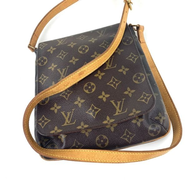 Louis Vuitton Monogram Musette Tango Handbag