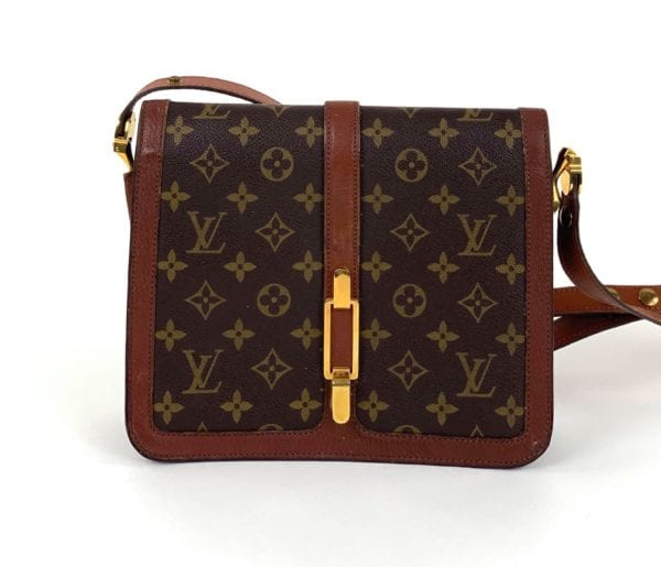Louis Vuitton Vintage Monogram Sac Rond Point Shoulder Handbag