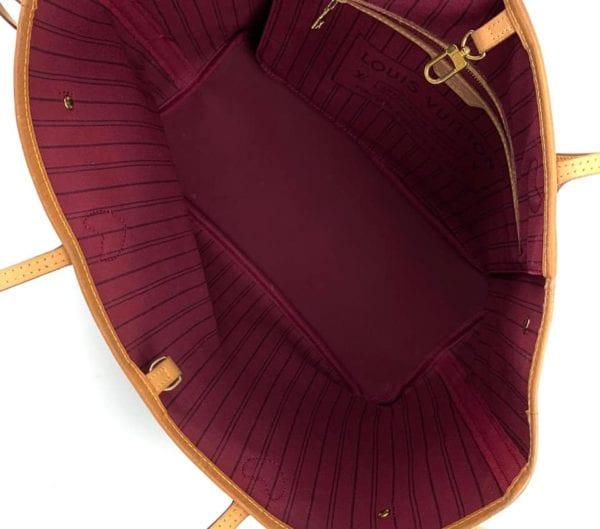 Louis Vuitton Monogram Neverfull MM with Fuchsia Interior