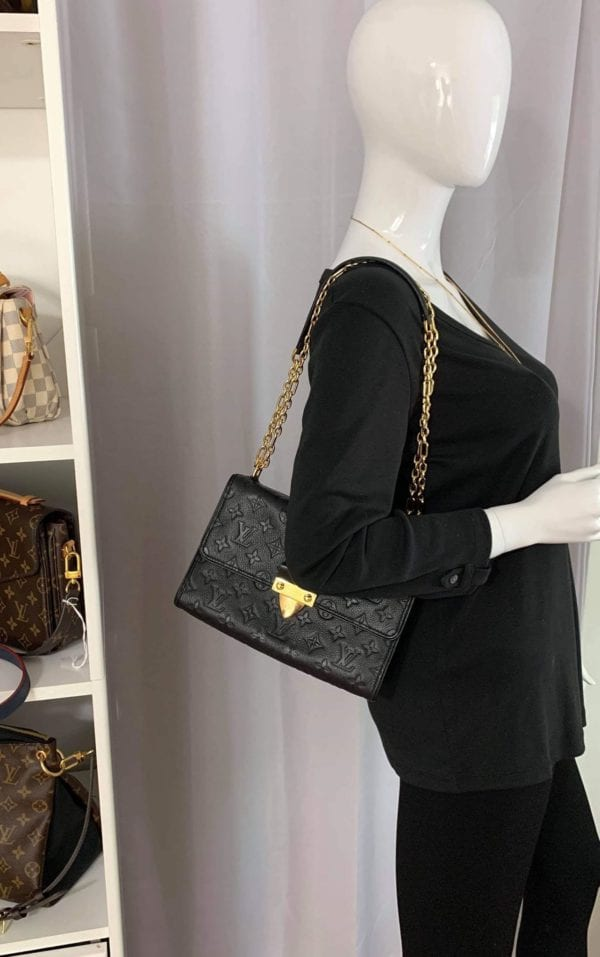 Louis Vuitton Empreinte Saint Sulpice PM Noir