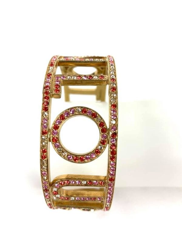 Louis Vuitton 1001 Nuits Collection Swarovski Crystal Bangle