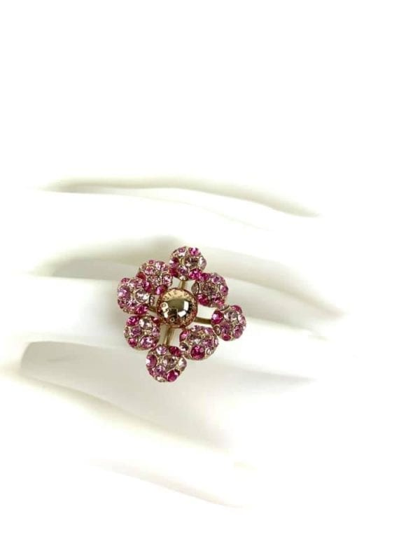 Louis Vuitton 1001 Nuits Collection Swarovski Crystal Ring