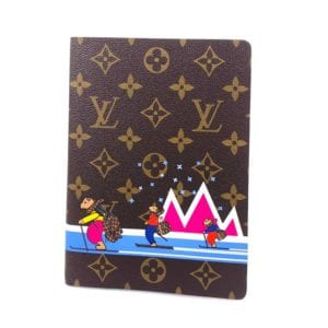 Louis Vuitton Monogram Autour Du Monde Clemence Notebook MM