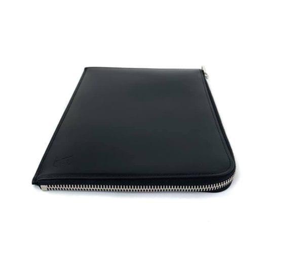 Louis Vuitton Black Leather Tablet Holder