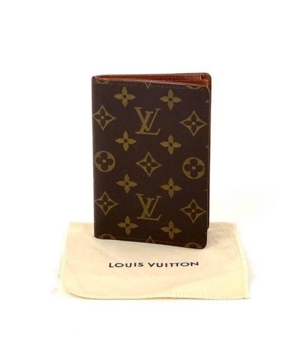 Louis Vuitton Vintage Monogram Passport Holder