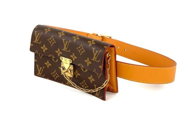 Louis Vuitton S Lock Belt Pouch PM
