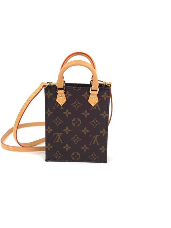 Louis Vuitton Monogram Petit Sac Plat