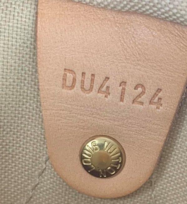 Louis Vuitton Damier Azur Speedy Bandouliere 25