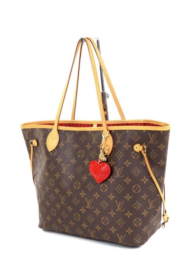 Louis Vuitton Monogram Neverfull MM Cerise