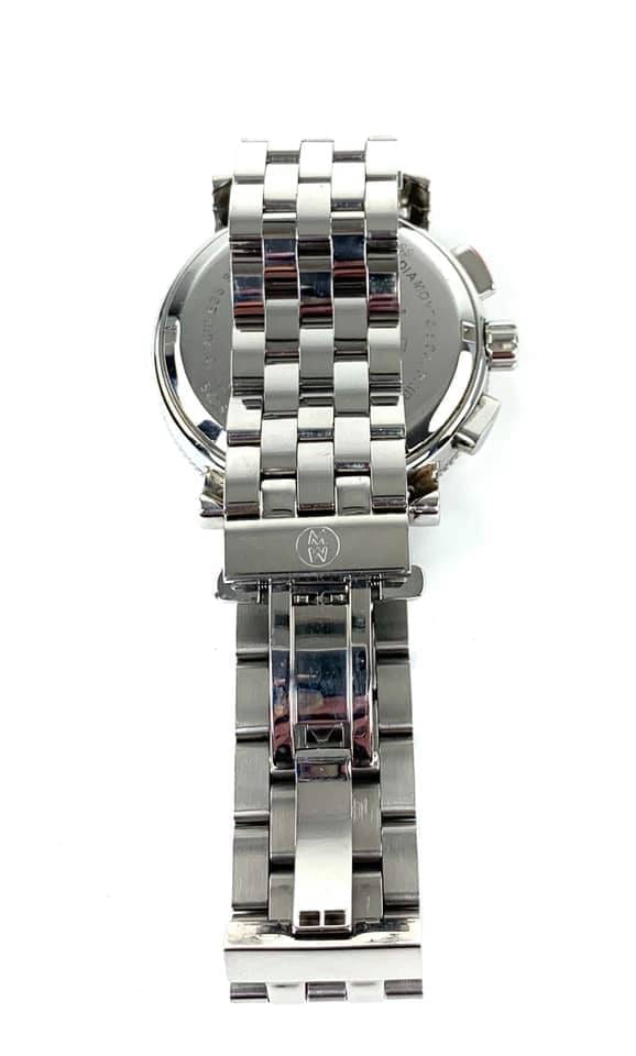 Michele Sport Sail Diamond Stainless Steel Watch 42mm