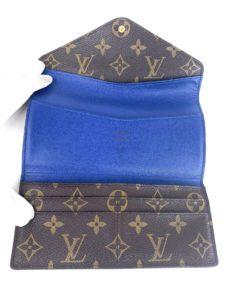 Louis Vuitton Monogram Josephine Wallet Blue