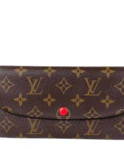 Louis Vuitton Monogram Emilie Wallet Fuchsia