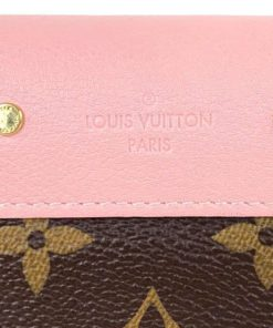 Louis Vuitton Monogram Pallas Wallet Rose Ballerine