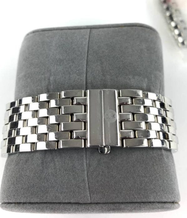 Michele Diamond CSX 36 Silver Watch