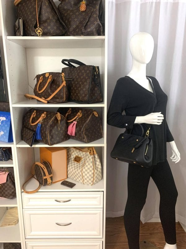 Louis Vuitton Empreinte Montaigne BB Noir