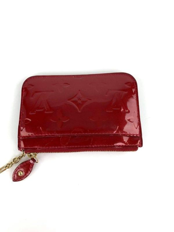 Louis Vuitton Pomme D'Amour Monogram Vernis Cles Coin Purse 2009