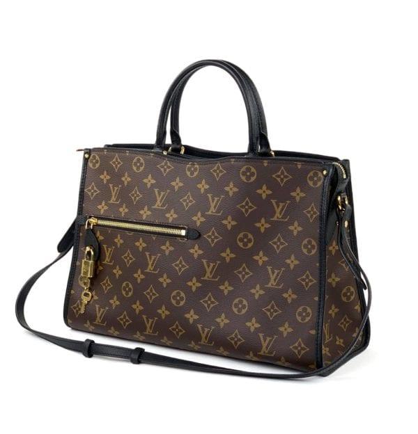 Louis Vuitton Monogram Popincourt MM Black