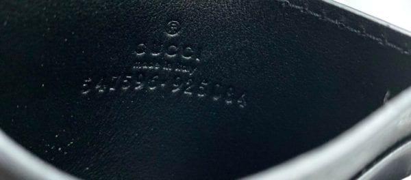 Gucci Black Logo Card Holder