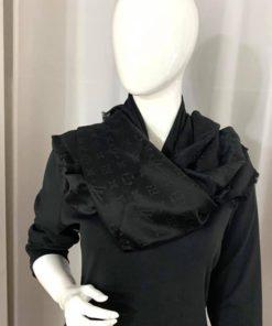 Louis Vuitton Monogram Shawl in Black