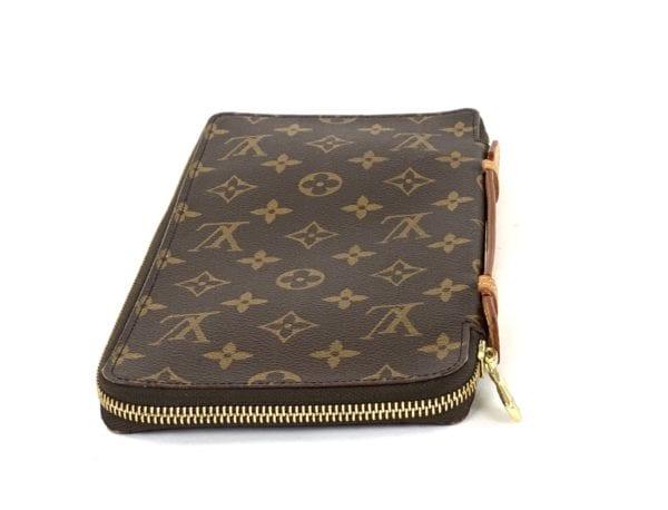 Louis Vuitton Monogram Organizer De Voyage Zip-Around Wallet