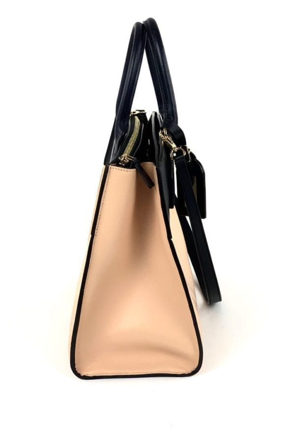 Louis Vuitton City Steamer MM Pink with Black and Navy