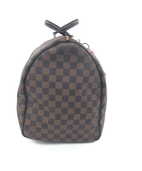 Louis Vuitton Damier Ebene Keepall 50 Travel Bag