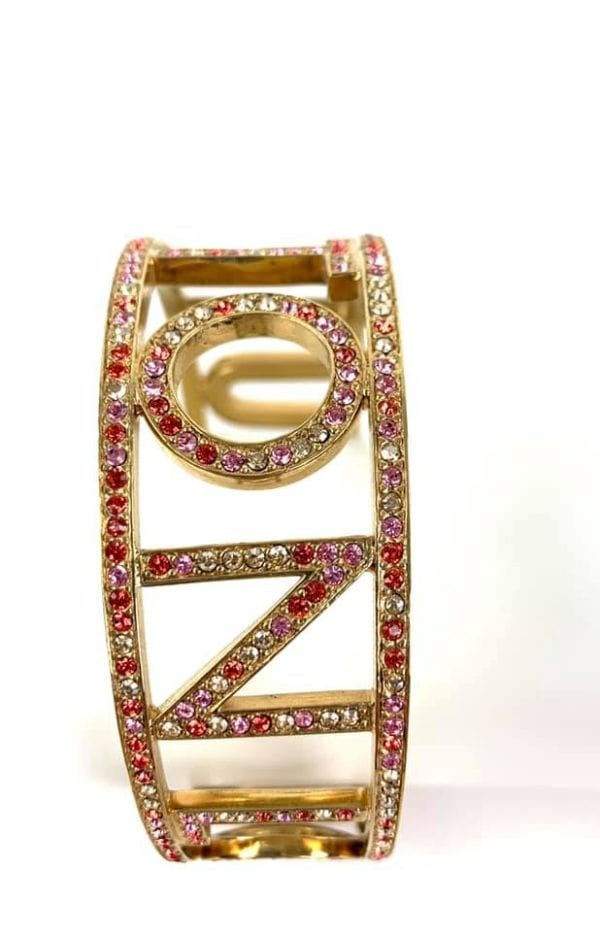 Louis Vuitton 1001 Nuits Collection Swarovski Crystal Bangle