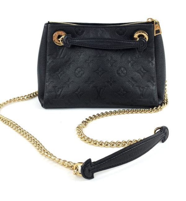Louis Vuitton Monogram Surene BB Black Empreinte