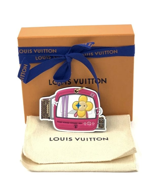 Louis Vuitton Vivienne Xmas Bag Charm Key Holder