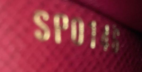 Louis Vuitton Monogram Sarah Multicartes Wallet Fuchsia