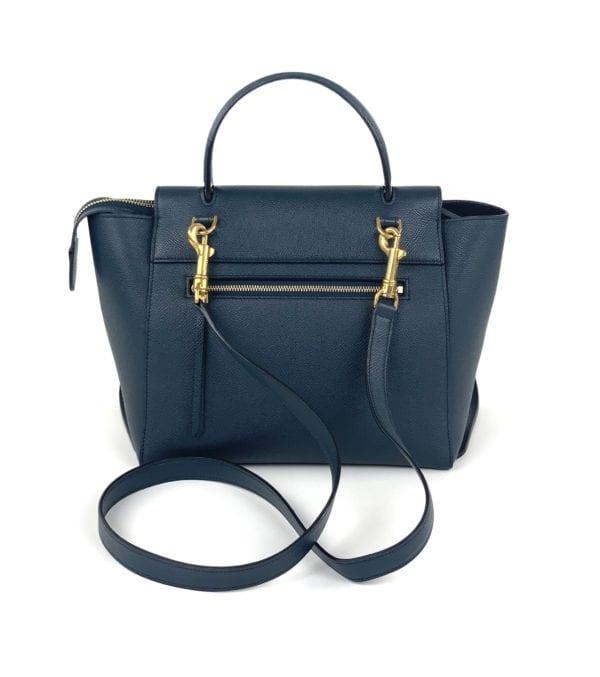 Celine Micro Belt Bag In Grained Calfskin Amazone