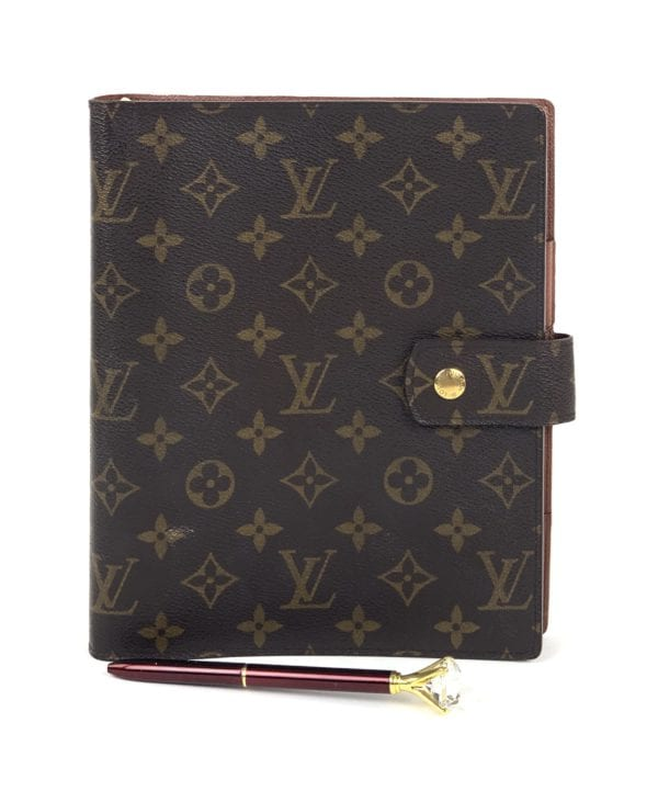 Louis Vuitton Monogram Agenda GM Organizer