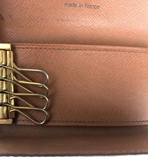 Louis Vuitton Monogram 4 Key Multicles Holder