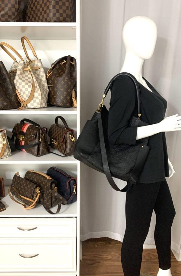 Louis Vuitton Empreinte Bagatelle Noir