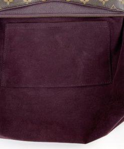 Louis Vuitton Monogram Pallas Deep Plum