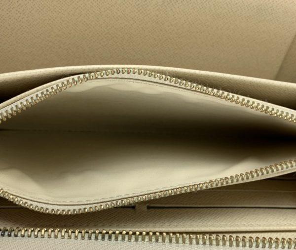 Louis Vuitton Damier Azur Zippy Organizer Wallet