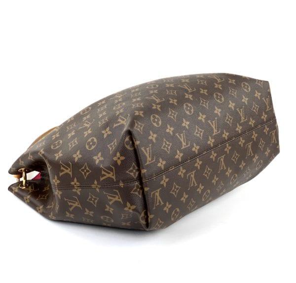 Louis Vuitton Monogram Graceful MM Peony