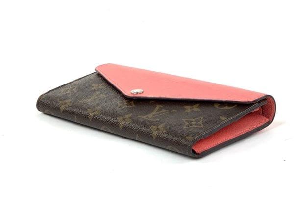 Louis Vuitton Monogram Epi Marie Long Wallet Coral