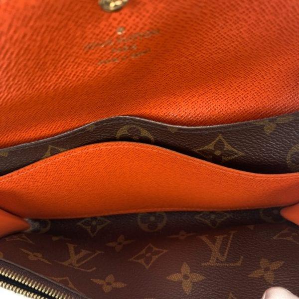 Louis Vuitton Monogram Emilie Wallet Piment