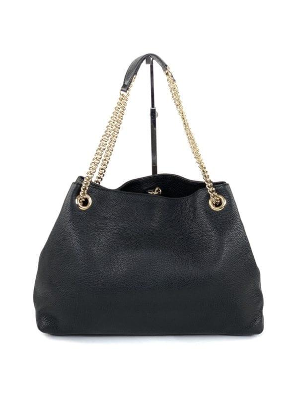 Gucci Medium Soho Chain Shoulder Bag Black