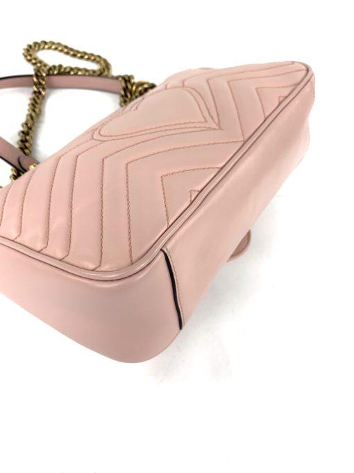 Gucci GG Marmont Matelassé Shoulder Bag Dusty Pink