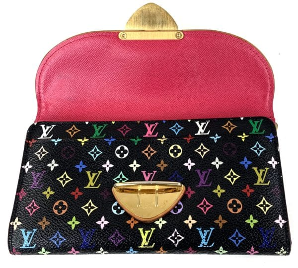 Louis Vuitton Multicolor Eugenie Wallet Black