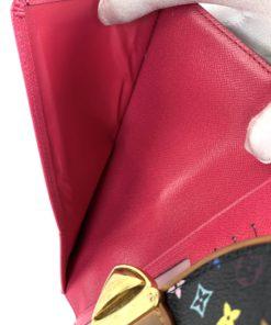 Louis Vuitton Multicolor Eugenie Wallet Black
