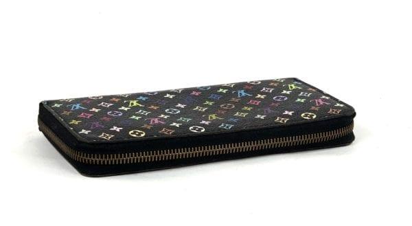 Louis Vuitton Multicolor Zippy Wallet Black