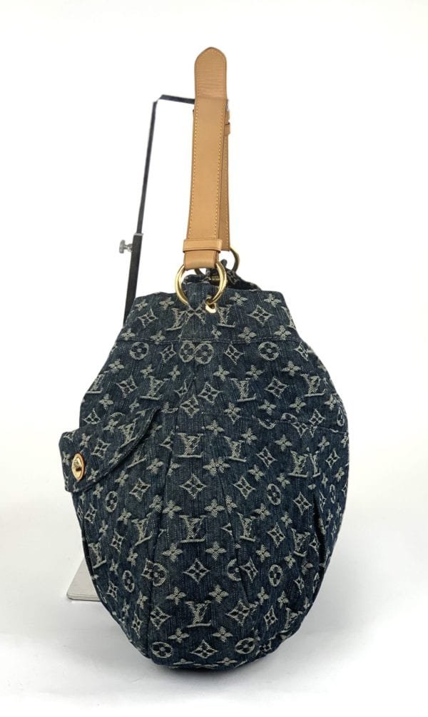 Louis Vuitton Denim Daily GM Gris Blue