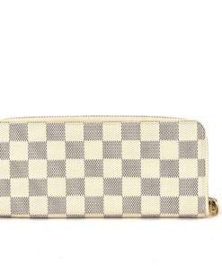 Louis Vuitton Damier Azur Clemence Wallet