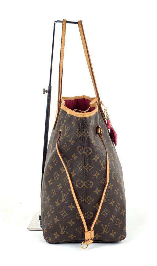 Louis Vuitton Monogram Neverfull GM Peony