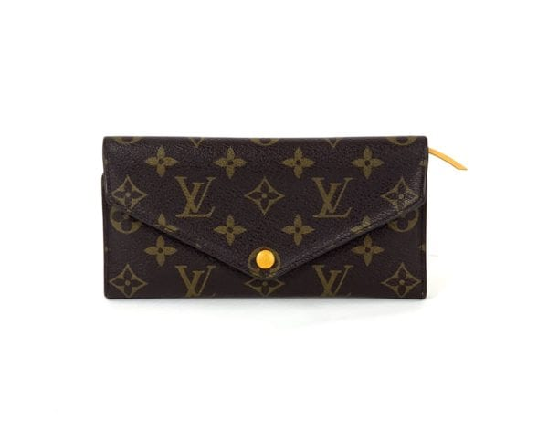 Louis Vuitton Monogram Josephine Wallet Mimosa