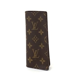 Louis Vuitton Monogram Etui a Lunettes Simple Eyeglass Case